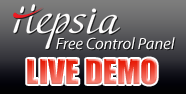 Try out our for free our newest Hepsia Control Panel